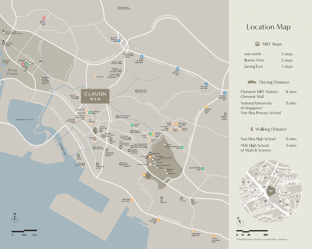 clavon-condo-location-map-clementi-avenue-1-singapore